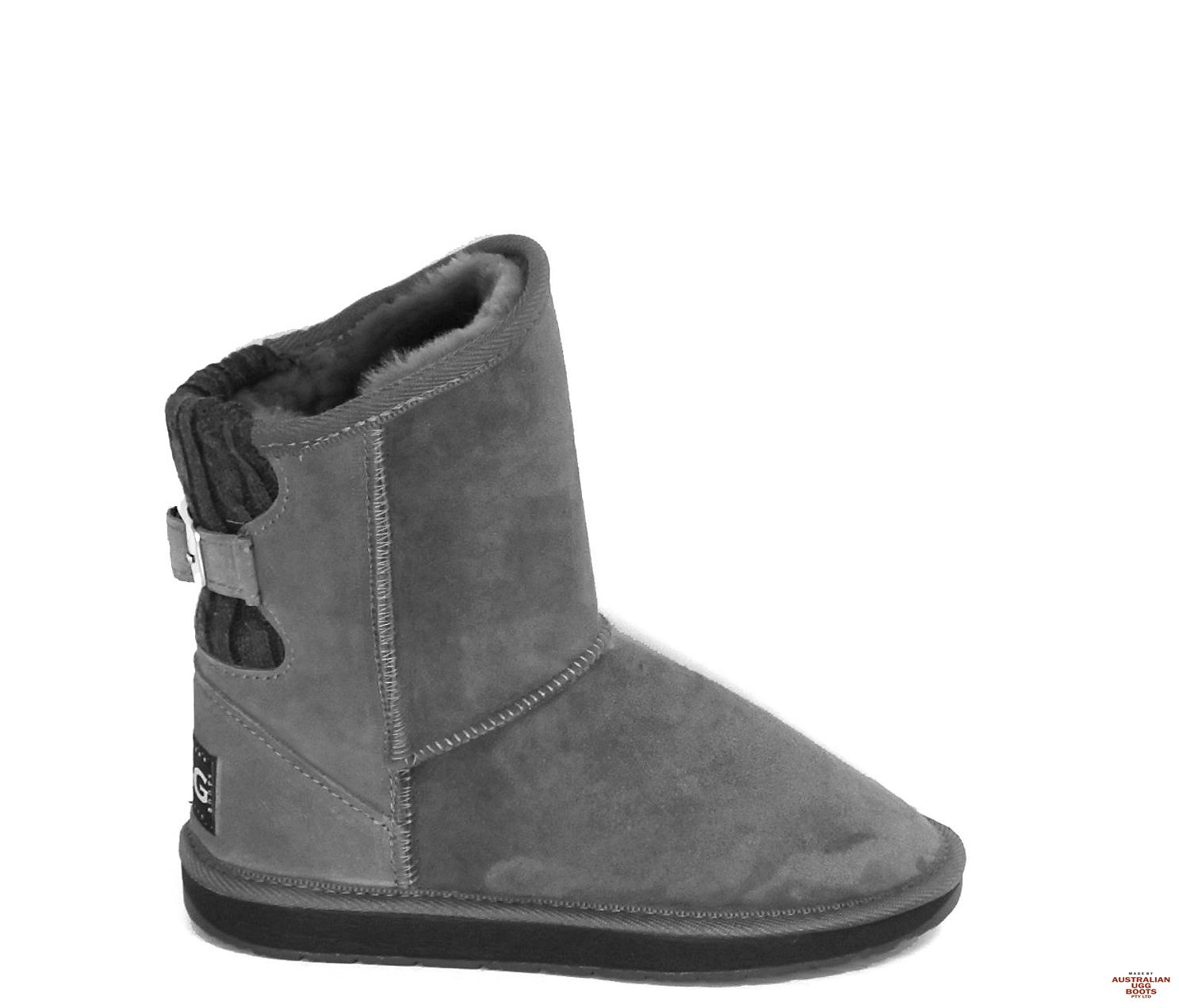 Jersey Ugg Boots. Image. Grey. Loading zoom